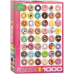 empireposter Puzzle Donuts - Süße Kollektion - 1000 Teile Puzzle - Grösse 68x48 cm, 1000 Puzzleteile