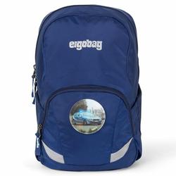 Ergobag Ease Kinderrucksack 35 cm blaulicht blau