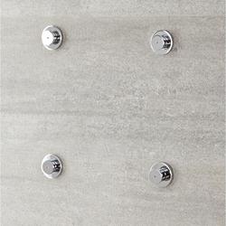 Körperdüse für Duschen mit Nebeleffekt (4 Stk.), von Hudson Reed
