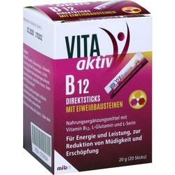VITA AKTIV B12 Direktsticks mit Eiweißbausteinen 20 St