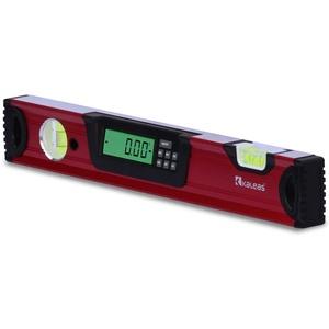 Neu Kaleas Professional Digitale Wasserwaage 40cm, elektronischer Neigungsmesser, Präzisions Libellen 0.4mm/m, Hightech Sensor ±0,05°, Handgriff, Aluminium Profil, Schutz-Tasche (34181)