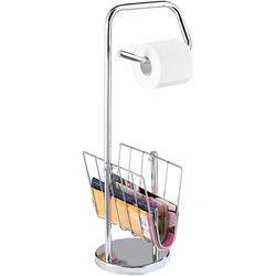 WC-Garnitur WC-Garnitur mit Zeitungsständer, WENKO, mit Zeitungsständer