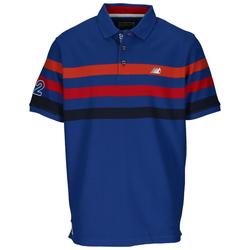 Ragman Poloshirt Blau, Gr. M - Herren Poloshirt