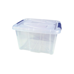 HTI-Living Aufbewahrungsbox Box mit Deckel 17 L (2 Stück), Aufbewahrung