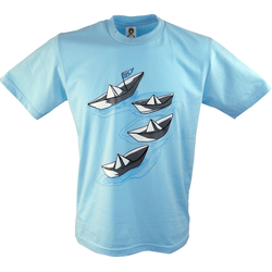Guru-Shop T-Shirt Fun T-Shirt - Faltboot L