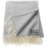 SCHÖNER WOHNEN Plaid Schöner Wohnen ¦ grau Material Baumwolle, Polyacryl, gemustert, bügelfrei