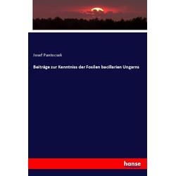 Beiträge zur Kenntniss der Fosilen bacillarien Ungarns als Buch von Josef Pantocsek