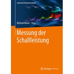 Messung der Schallleistung als Buch von