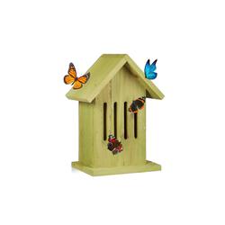 relaxdays Insektenhotel Schmetterlingshaus hängend in 2 Farben