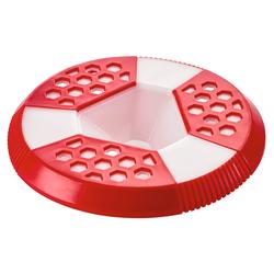 Hunter Hundespielzeug Varnek Frisbee rot/weiß