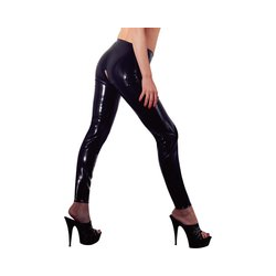 Leggings aus Latex, ouvert