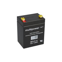 Multipower Multipower Blei-Akku MP2,9-12 Pb 12V 2,9Ah Bleiakkus