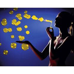 UV-Seifenblasenfluid Gelb Seifenblasenfluid 1l