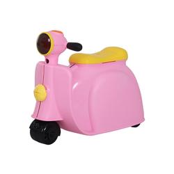 HOMCOM Kinderkoffer Kinderkoffer als Motorrad