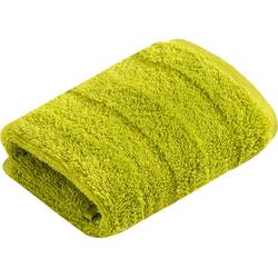 Vossen Waschlappen Fresh (3-tlg), BIO und VEGAN grün
