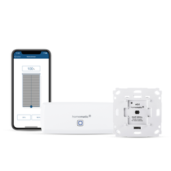 Homematic IP WLAN Access Point + Homematic IP Rollladenaktor für Markenschalter