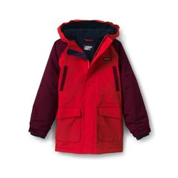 Wasserdichter Parka SQUALL - 98/104 - Rot