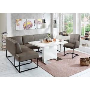 exxpo - sofa fashion Eckbank grau