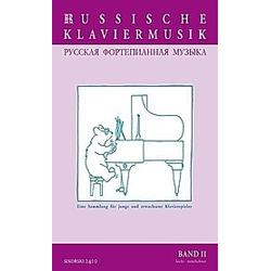 Russische Klaviermusik - Buch