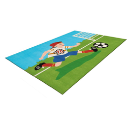 Kinderteppich Joy 4090, Arte Espina, rechteckig, Höhe 16 mm, Fussball