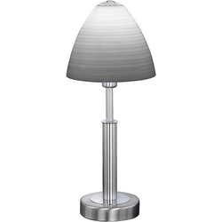 WOFI Savannah 8722.01.64.0006 Tischlampe LED E14 12W Nickel (matt)