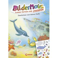 Loewe Verlag Bildermaus Lesenlernen mit Stickern - Kleiner Delfin 8395