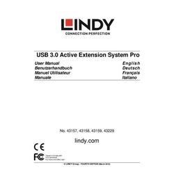 Lindy Usb 3.0 Aktivverlaengerungs-Hub