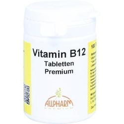 VITAMIN B12 PREMIUM Allpharm Tabletten 100 St