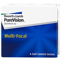 Bausch + Lomb PureVision Multi-Focal 6 St. / 8.60 BC / 14.00 DIA / +1.00 DPT / Low ADD
