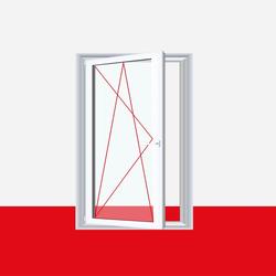 Fenster Streifen - 1 flg. Dreh Kipp  Kunststofffenster Ornament Streifen