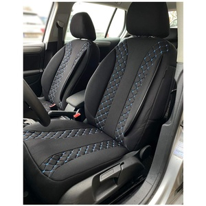 Maß Sitzbezüge kompatibel mit Ford Focus IV Fahrer & Beifahrer ab 2018 Farbnummer: N306 Sitzbezüge & Sitzauflagen Autositzbezüge Vordersitze Sitzbezugset Sitzbezug