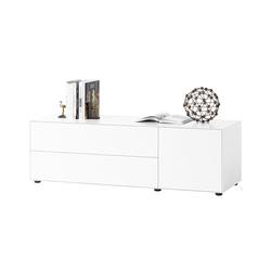 Sideboard Nex Pur Piure weiß, Designer Studio Piure, 52.5x160x48 cm