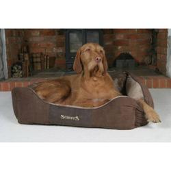 Scruffs Chester Box Bed hondenmand Chocolate  M