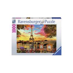 Ravensburger Puzzle Ravensburger - Paris und die Seine, 1000 Teile, 1000 Puzzleteile