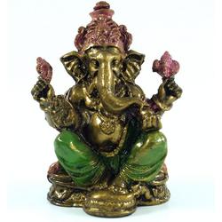 Guru-Shop Dekofigur Ganeshafigur aus Recin