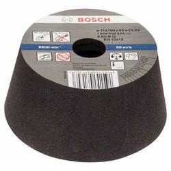 Schleiftopf, konisch-Metall/Guss 90 mm, 110 mm, 55 mm, 60