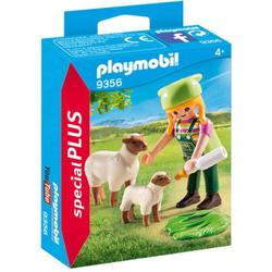 Playmobil Bäuerin mit Schäfchen