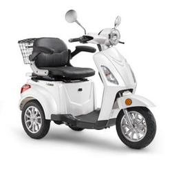 Luxxon E-Dreirad E3800 20 km/h (Mofa-Klasse) weiß