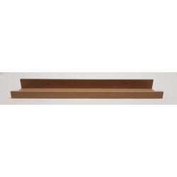 Bilderleiste NORINA braun (BHT 55x10x5 cm)