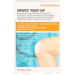 OPSITE Post-OP 5x6,5 cm Verband 5 St.