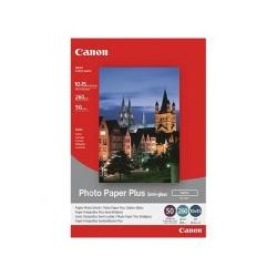 Canon Photo Paper Plus SG-201 Satiniertes Fotopapier halbglänzend 101.6 x 152.4 mm (1686B015)