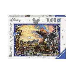 Ravensburger Puzzle Puzzle 1000 Teile, 70x50 cm, Der König der Löwen, Puzzleteile
