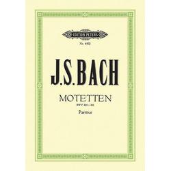 Motetten BWV 225-231: Buch von Johann Sebastian Bach
