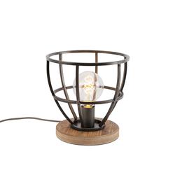 Industrielle Tischlampe schwarz - Arthur