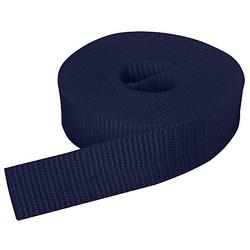 buttinette Taschengurtband, marine, Breite: 2,5 cm, Länge: 3 m