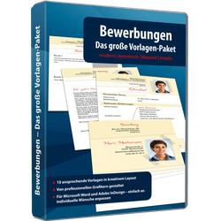 Bewerbungen - Das große Vorlagen-Paket