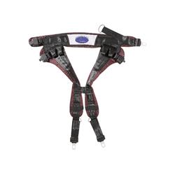 Eurotramp® Saltogürtel, Rot, bis 65 kg Körpergewicht