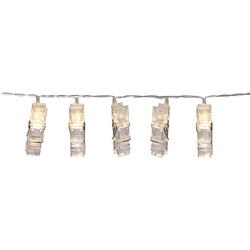 JAKO-O LED-Foto-Clip-Lichterkette, transparent - transparent