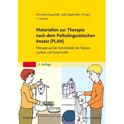 Materialien zur Therapie nach dem Patholinguistischen Ansatz (PLAN): Buch von