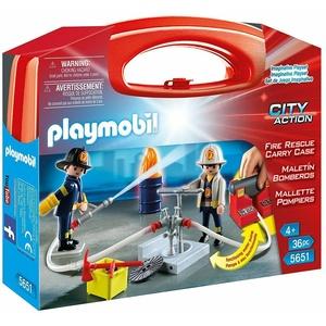 """PLAYMOBIL® City Action 5651 """"Mitnehm-Köfferchen Feuerwehr"""" NEU/OVP!"""